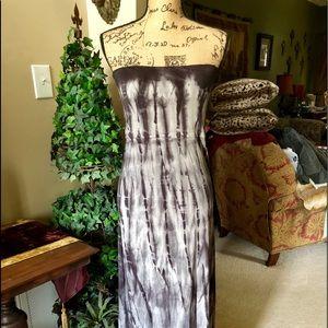 Billabong Tie Dye Cover up/Fold over skirt size M